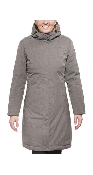 Yeti Yarrow Down Filled Raincoat Women sesame
